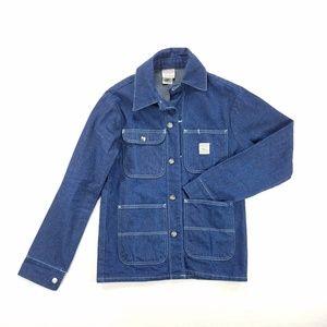 LC King Pointer Brand Denim Jean Barn Chore Jacket
